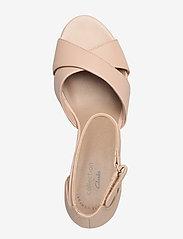 Clarks - Adriel Cove - högklackade sandaler - blush leather - 3