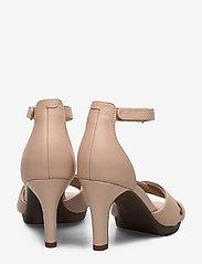 Clarks - Adriel Cove - högklackade sandaler - blush leather - 4