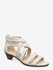 Clarks - Mena Silk - sandales à talons - white - 0