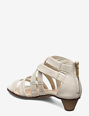 Clarks - Mena Silk - sandales à talons - white - 2