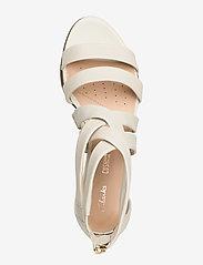 Clarks - Mena Silk - sandales à talons - white - 3