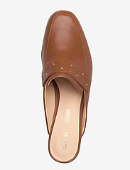 Clarks - Pure Mule - mules & slipins - tan leather - 3