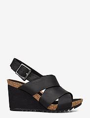 Clarks - Flex Sand - sandales à talons - black leather - 1