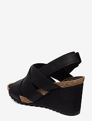 Clarks - Flex Sand - sandales à talons - black leather - 2