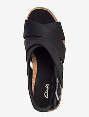 Clarks - Flex Sand - sandales à talons - black leather - 3