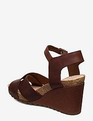 Clarks - Flex Sun - högklackade sandaler - tan leather - 2