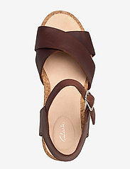 Clarks - Flex Sun - högklackade sandaler - tan leather - 3