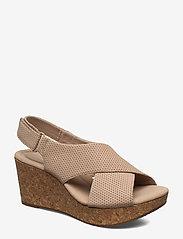 Clarks - Annadel Parker - sandales à talons - sand suede - 0