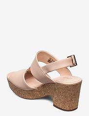 Clarks - Maritsa Glad - högklackade sandaler - blush leather - 2