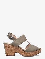 Clarks - Maritsa Glad - högklackade sandaler - sage suede - 1