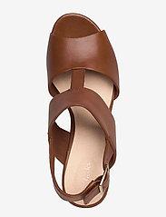 Clarks - Maritsa Glad - högklackade sandaler - tan leather - 3