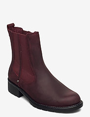 Clarks - Orinoco Club - chelsea boots - merlot leather - 0