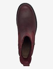 Clarks - Orinoco Club - chelsea boots - merlot leather - 3
