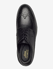 Clarks - Oliver Wing - brogues - black leather - 3
