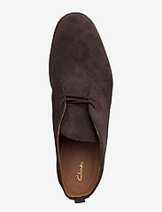 Clarks - Clarkdale DBT - desert boots - dark brown suede - 3