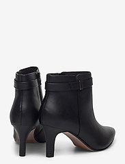 Clarks - Illeana Calla - ankelboots med klack - black leather - 4