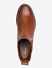 Clarks - Clarkdale Arlo - chelsea boots - tan leather - 3