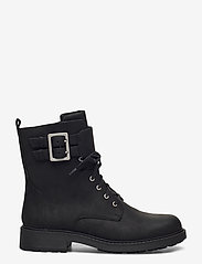 Clarks - Orinoco2 Lace - platta ankelboots - black wlined lea - 1