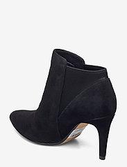 Clarks - Laina Violet - ankelstøvletter med hæl - black sde - 2