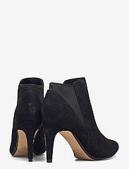 Clarks - Laina Violet - ankelstøvletter med hæl - black sde - 4
