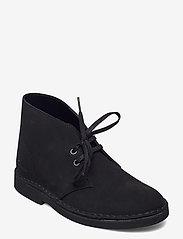 Clarks - Desert Boot 2 - flache stiefeletten - black sde - 0