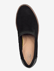 Clarks - Sharon Dolly - loafers - black - 3