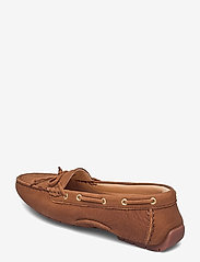 Clarks - C Mocc Boat2 - loafers - tan leather - 2