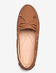 Clarks - C Mocc Boat2 - loafers - tan leather - 3