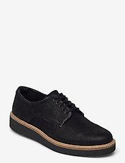 Clarks - Baille Stitch - chaussures à lacets - black nubuck - 0
