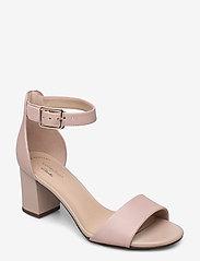 Clarks - Deva Mae - högklackade sandaler - dusty rose - 0