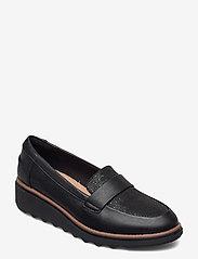 Clarks - Sharon Gracie - loafers - black/black - 0