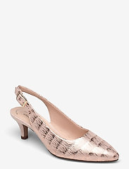 Clarks - Linvale Sondra - sling backs - rose - 0