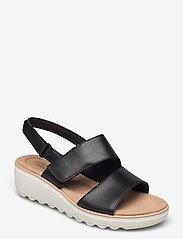 Clarks - Jillian Pearl - sandales - black leather - 0