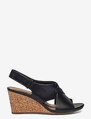 Clarks - Margee Eve - kilklackar - black leather - 1