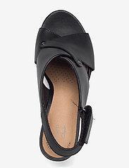 Clarks - Margee Eve - kilklackar - black leather - 3