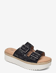 Clarks - Lana Beach - platta sandaler - black interest - 0