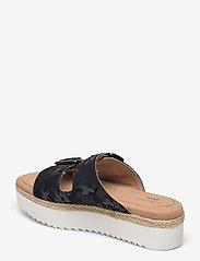 Clarks - Lana Beach - platta sandaler - black interest - 2