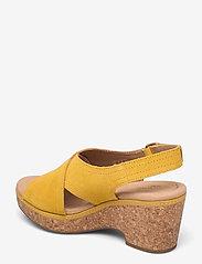 Clarks - Giselle Cove - högklackade sandaler - yellow - 2