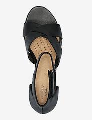 Clarks - Margee Gracie - högklackade sandaler - black leather - 3