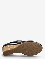 Clarks - Margee Gracie - högklackade sandaler - black leather - 4