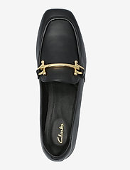 Clarks - Pure Block - loafers - black leather - 3