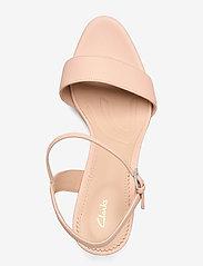Clarks - Vista Strap - högklackade sandaler - light pink lea - 3
