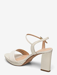 Clarks - Vista Strap - högklackade sandaler - white combi - 2
