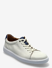 Clarks - Cambro Low - baskets basses - white leather - 0
