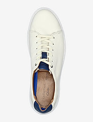 Clarks - Cambro Low - baskets basses - white leather - 3