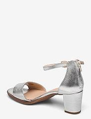 Clarks - Kaylin60 2Part - högklackade sandaler - silver metallic - 2