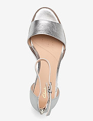 Clarks - Kaylin60 2Part - högklackade sandaler - silver metallic - 3