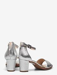Clarks - Kaylin60 2Part - högklackade sandaler - silver metallic - 4
