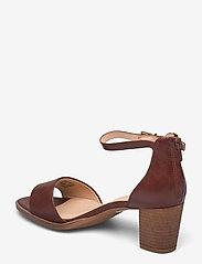 Clarks - Kaylin60 2Part - högklackade sandaler - tan leather - 2
