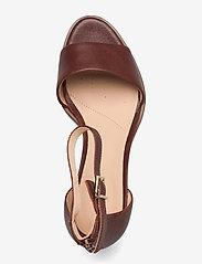 Clarks - Kaylin60 2Part - högklackade sandaler - tan leather - 3